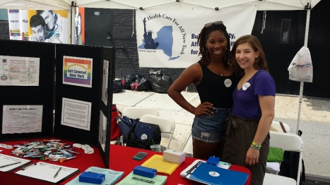 HCFANY table at PrideFest